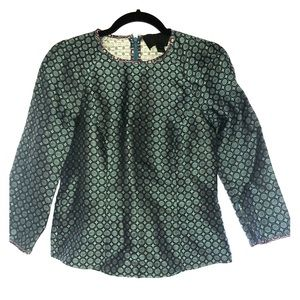 J. Crew Tops - JCrew Collection Jade Foulard Top